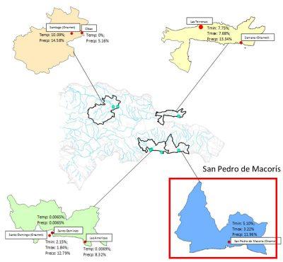 Figure 1. Weather station location in San Pedro de Macorís.