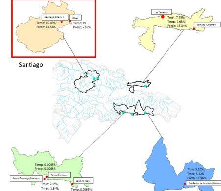 Figure 1. Weather station location in Santiago